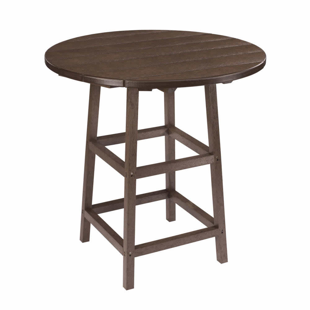 CR Plastics Generations Pub Height Leg Table Base