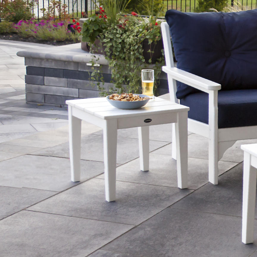 "POLYWOOD® Newport 18"" End Table"