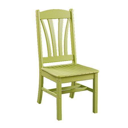 Sunburst Poly Dining Side Chair