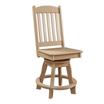 Sunnyside Poly Swivel Balcony Side Chair