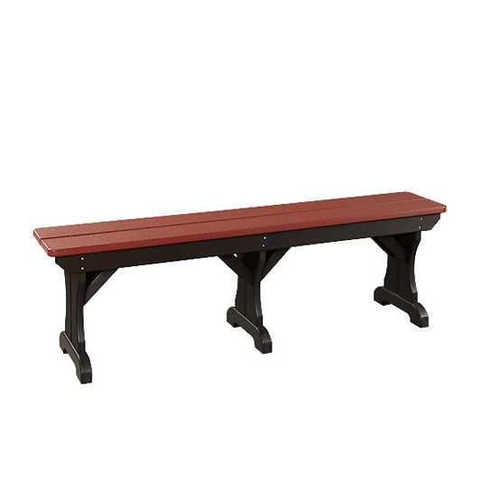 Poly Dining 72in Bench