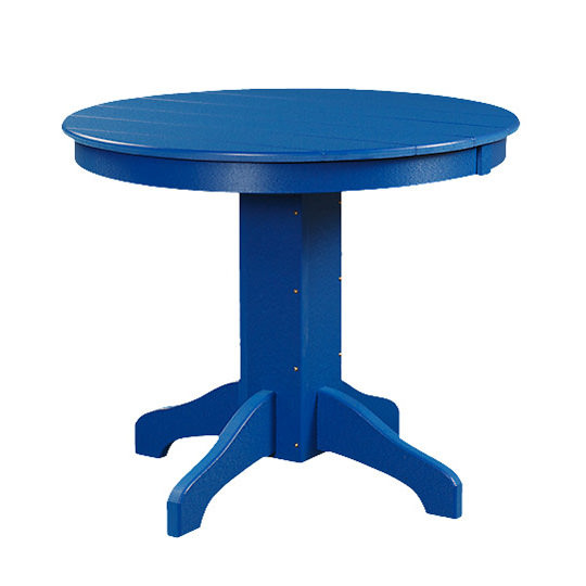 Poly 36in Round Balcony Table