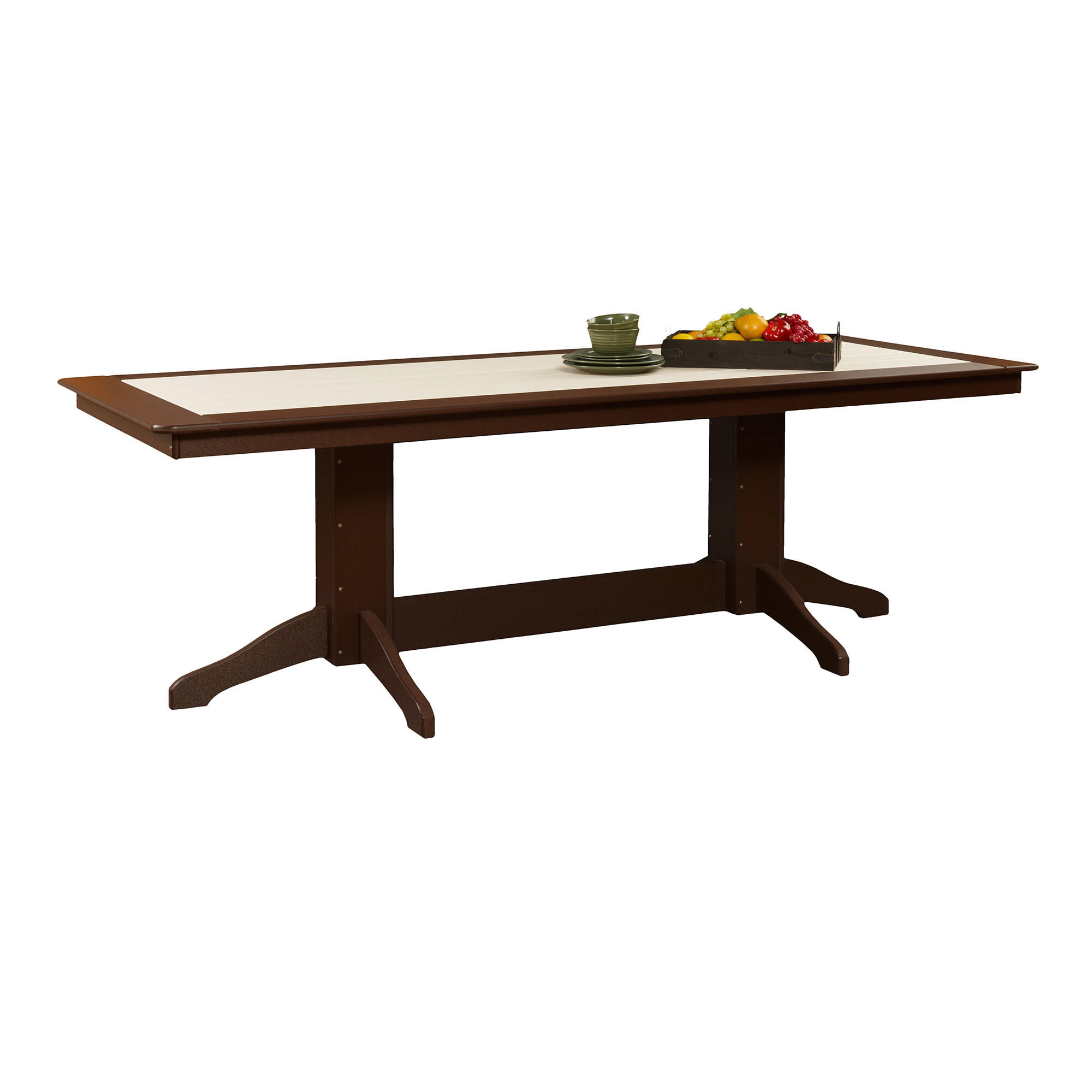 Poly 8 ft Rectangle Patio Table