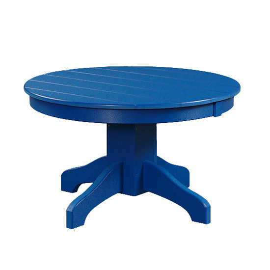 Poly 42in Round Conversation Table