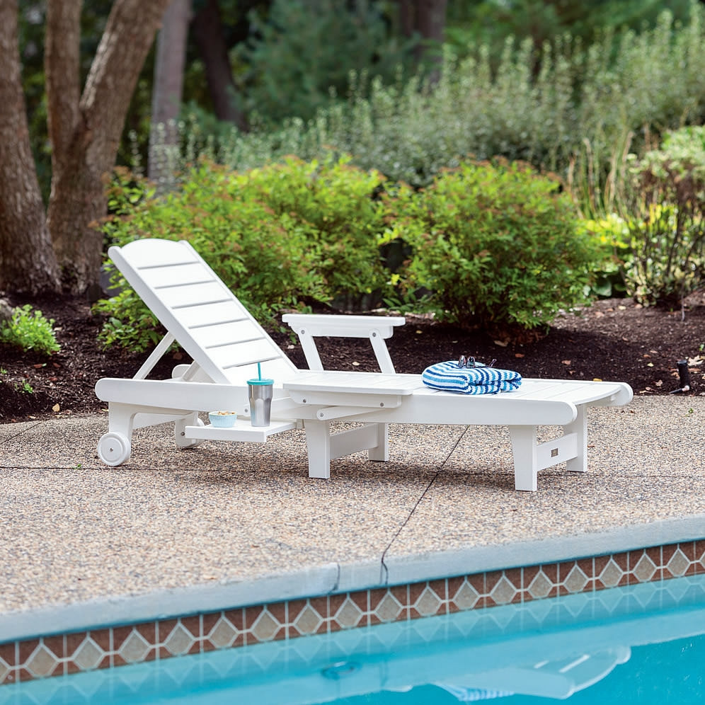 Malibu Outdoor Deluxe Delray Chaise Lounge