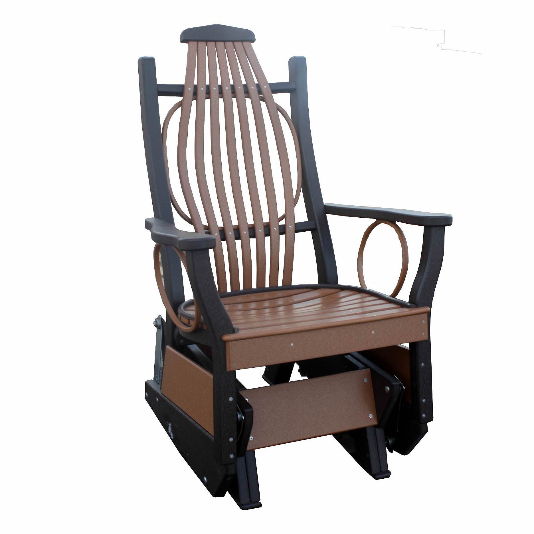 Deluxe Poly Bent Glider Glider Chairs Chairs
