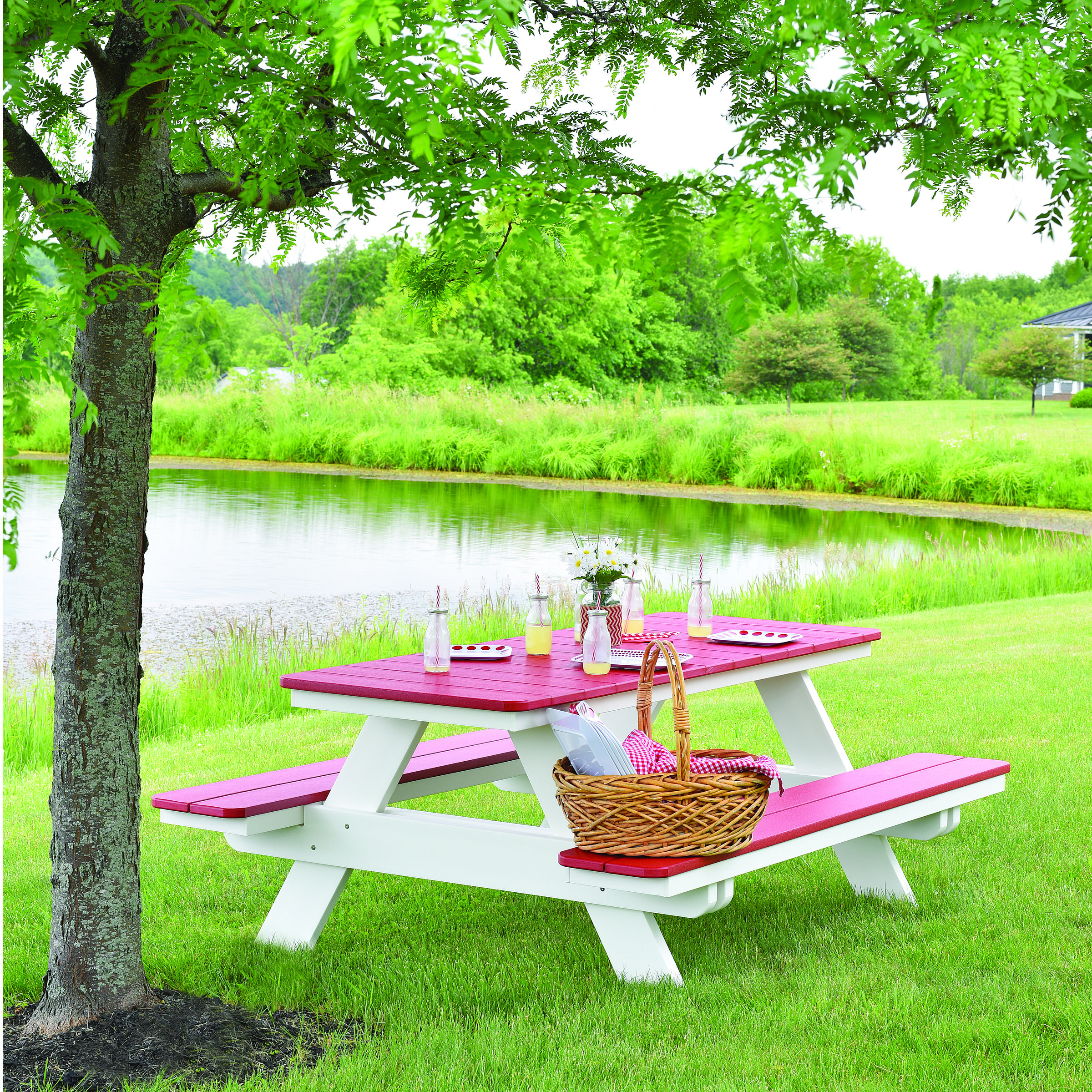 Berlin Gardens Rectangle Picnic Table Bars Benches Picnic Tables Berlin Gardens Poly
