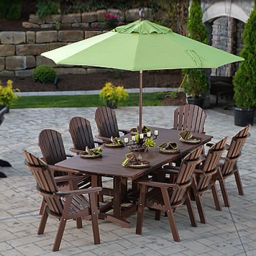 Berlin Gardens Elite Comfo Back Orchid Dining Set Comfo