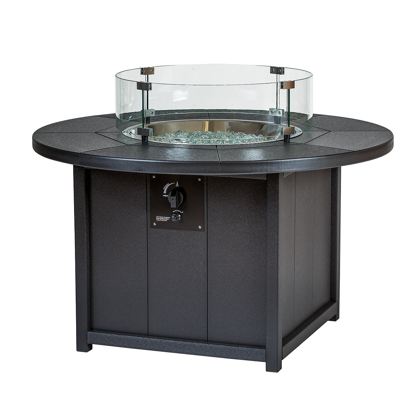 Finch Amish Poly 42 In Seaaira Round Fire Pit Fire Tables Ice Pit Tables Finch Collections