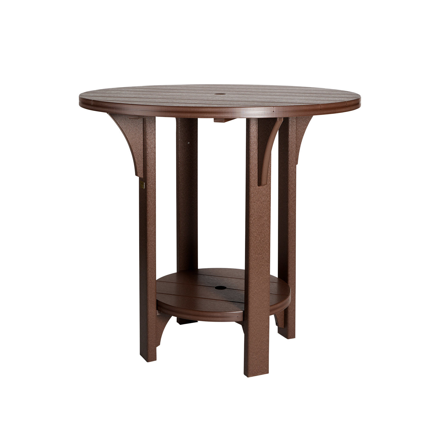 Finch Amish Poly Great Bay 42in Round Bar Table