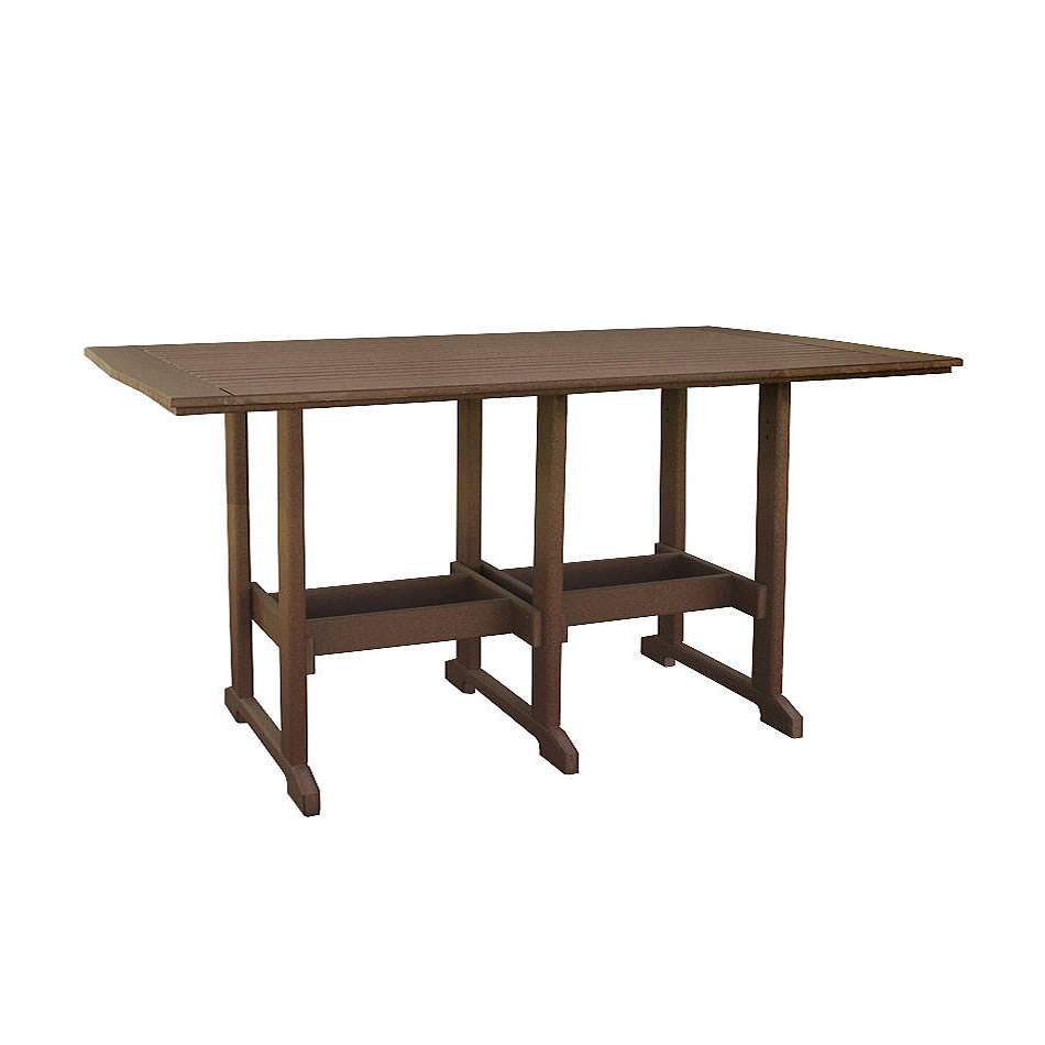 Finch Amish Poly 43in x 96in Great Bay Bar Table