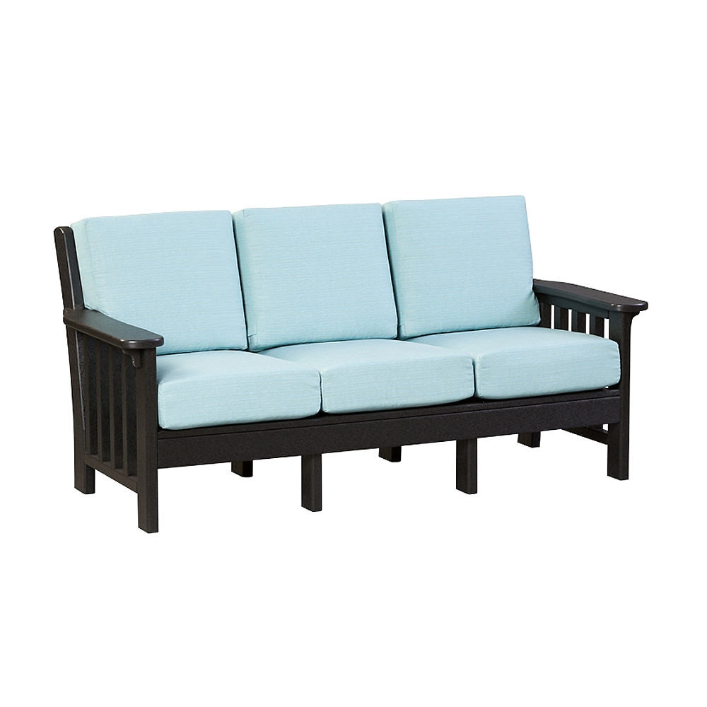 Amish Poly Mission Deep Seating Sofa