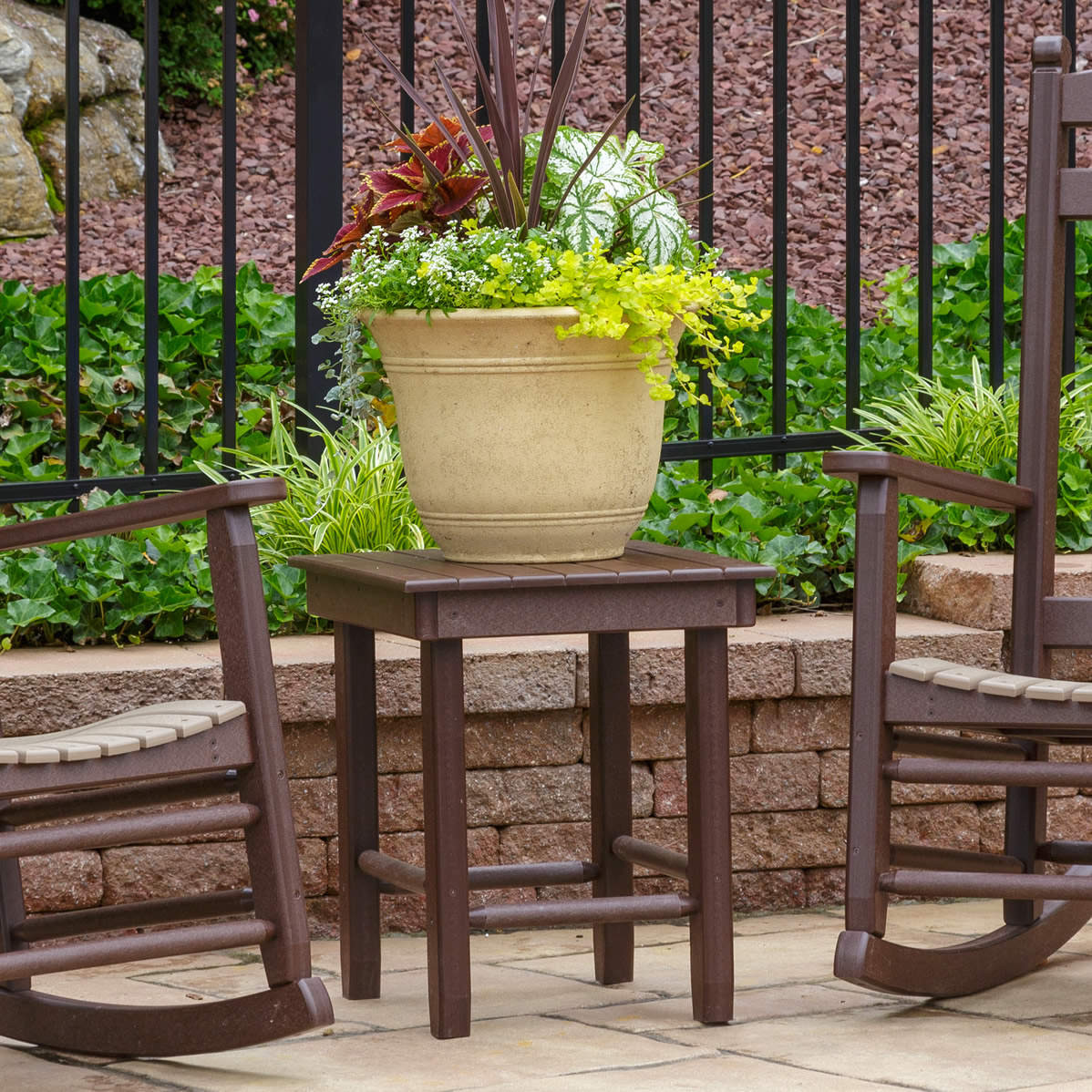 Amish Poly Zinn's Mill Table