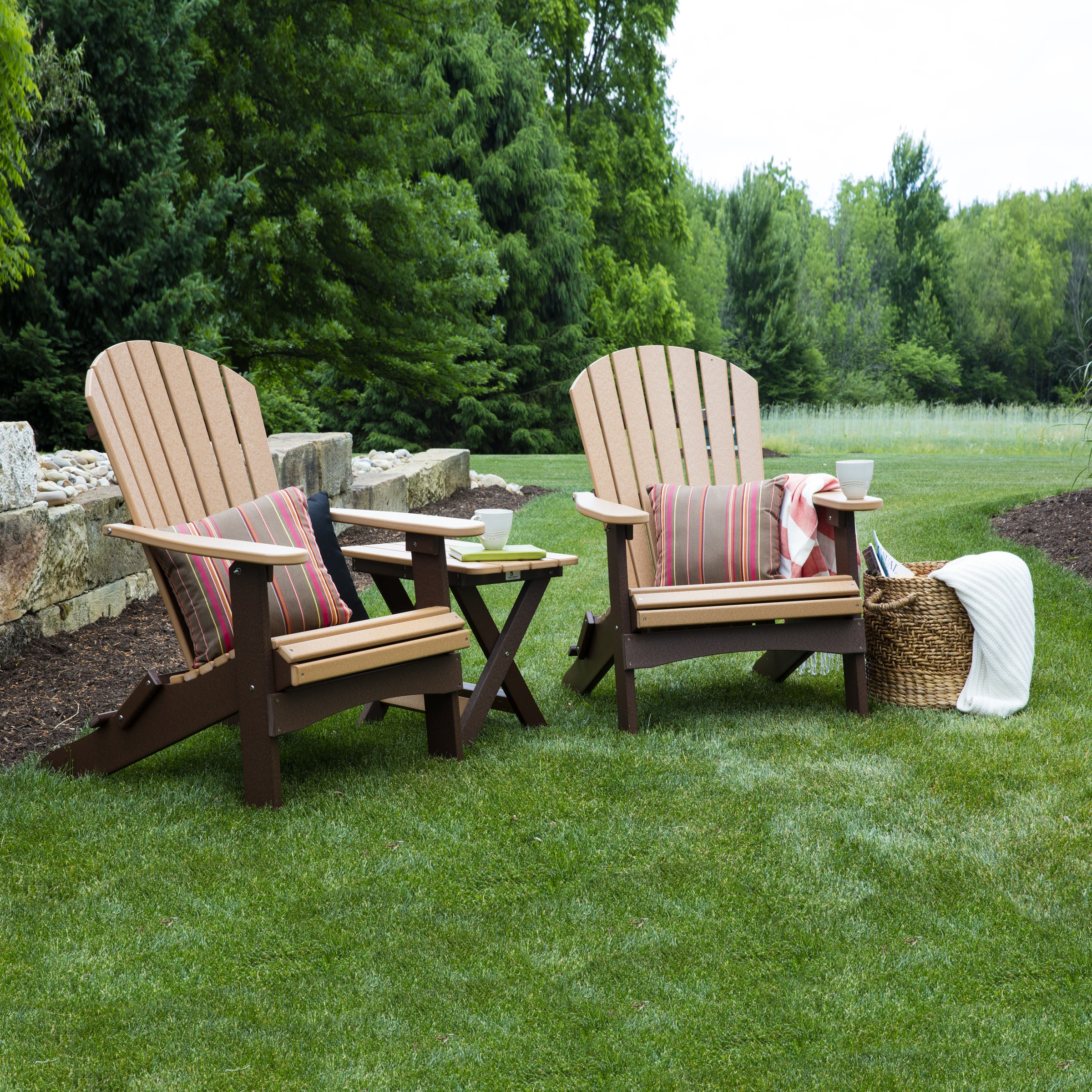 Berlin Gardens fo Back Folding Adirondack Chair
