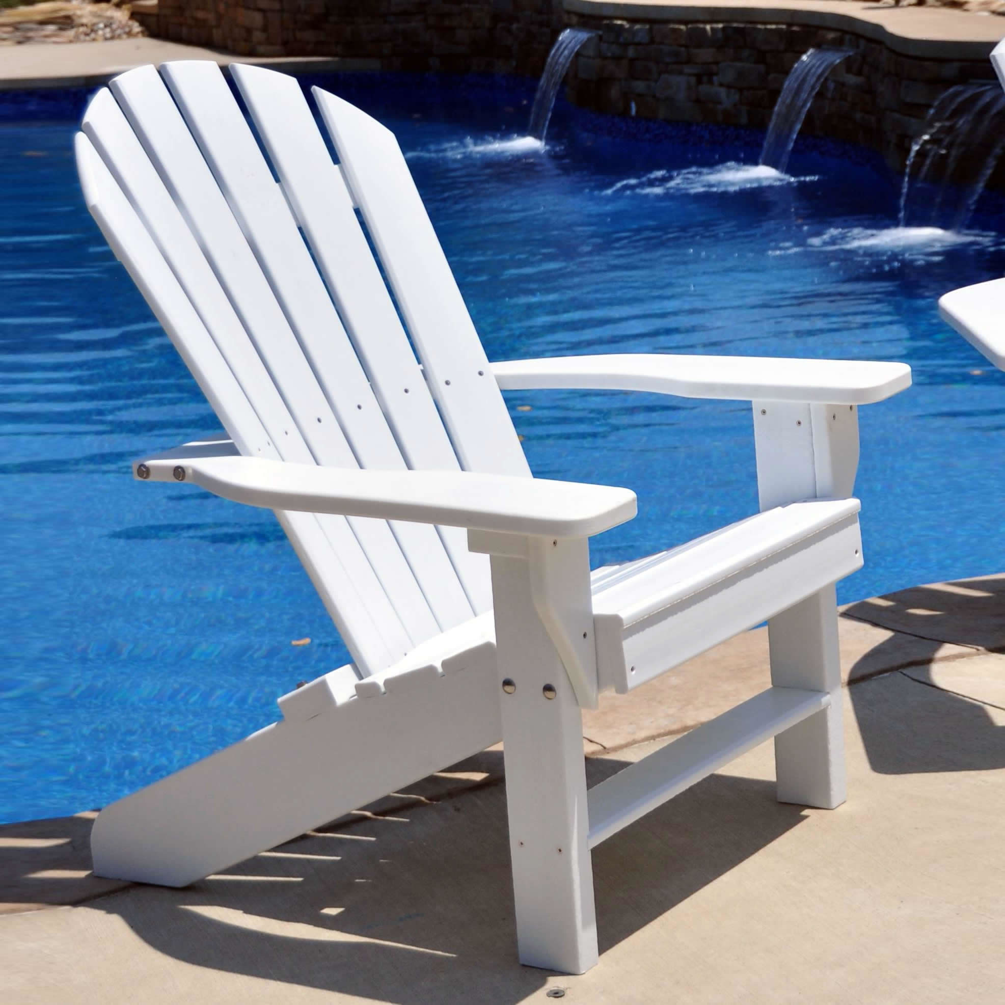 Premium Poly Patios Polywood Adirondack Chairs For Sale