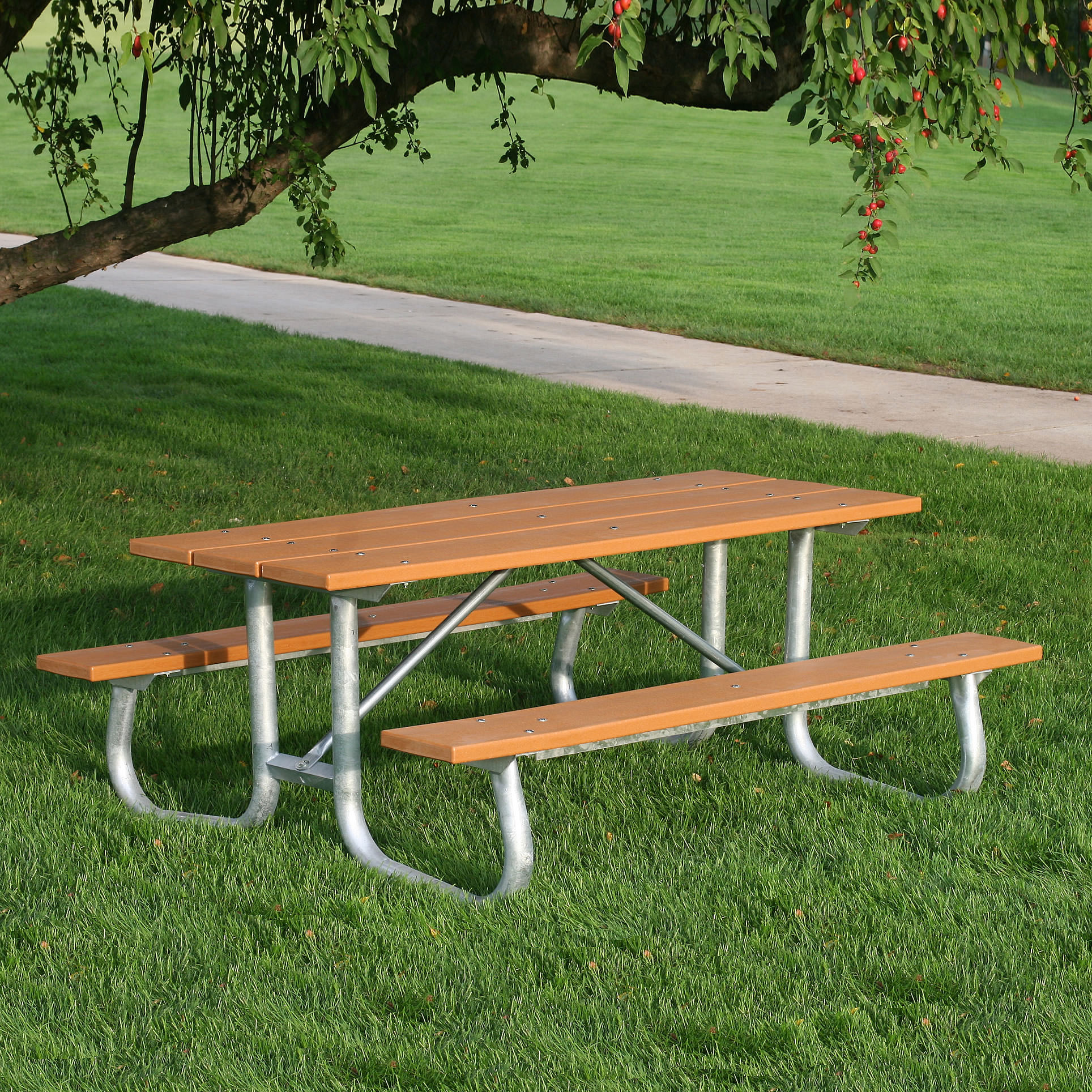 Galvanized Frame Picnic Table Commercial Collections - Galvanized picnic table frame