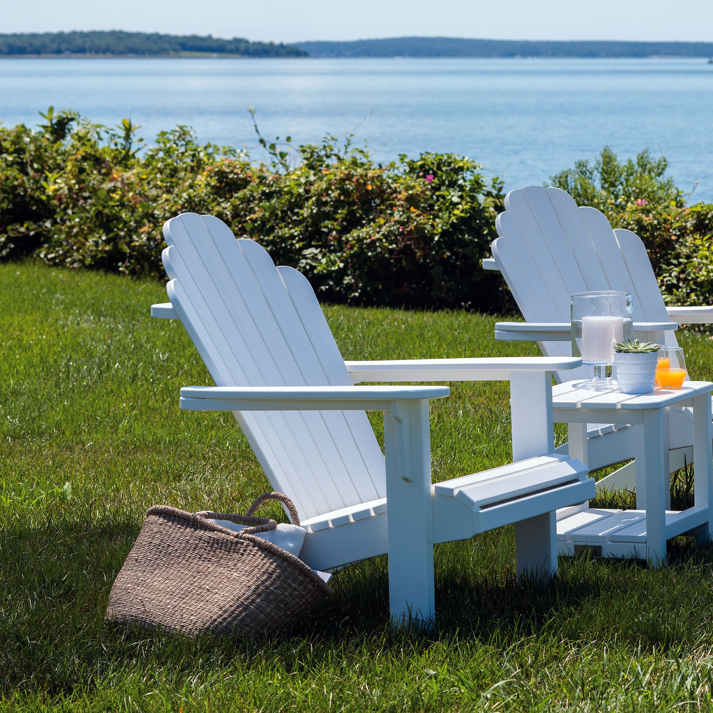 Malibu Outdoor Hampton Adirondack Chair
