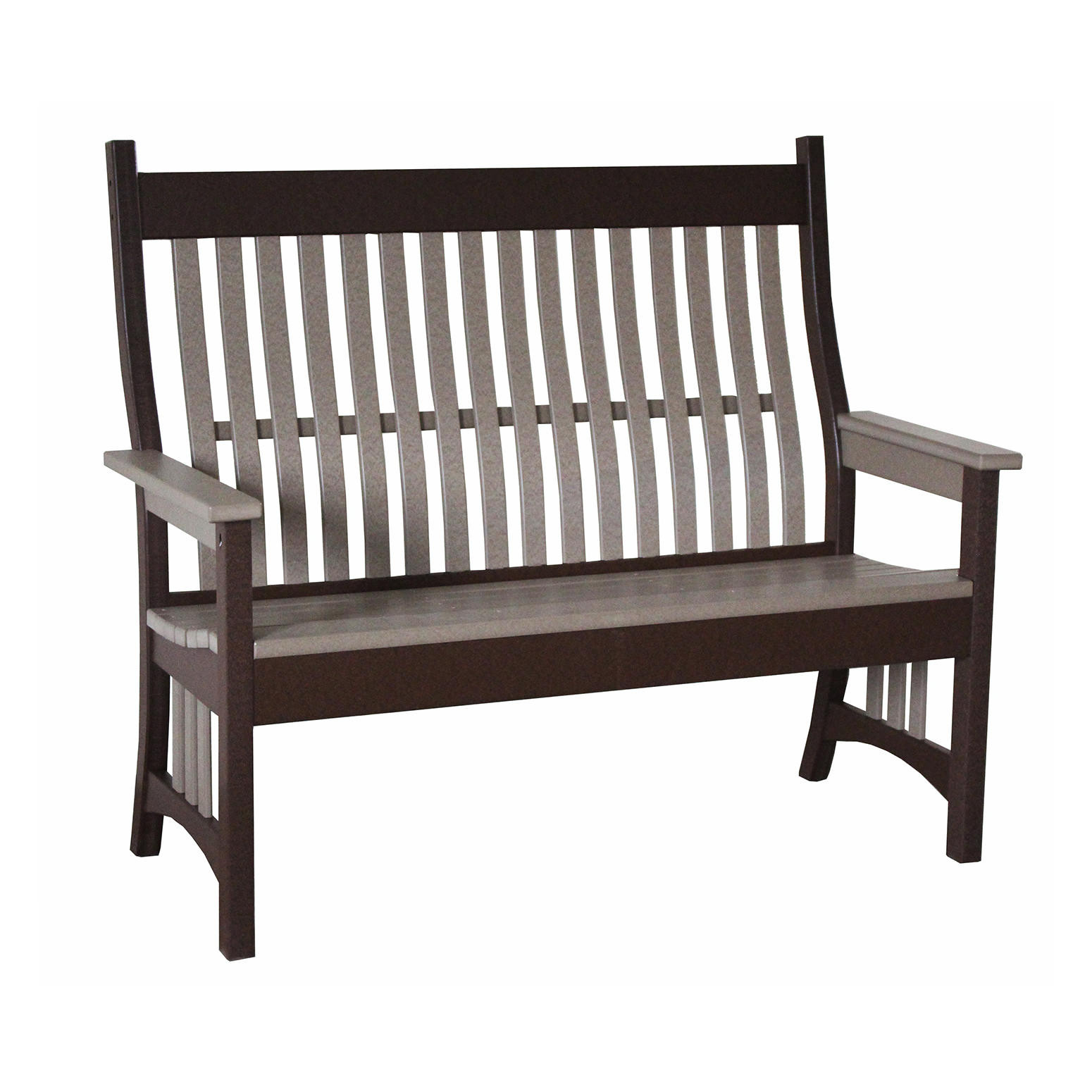 Indiana Amish Poly 4' Rexford Bench