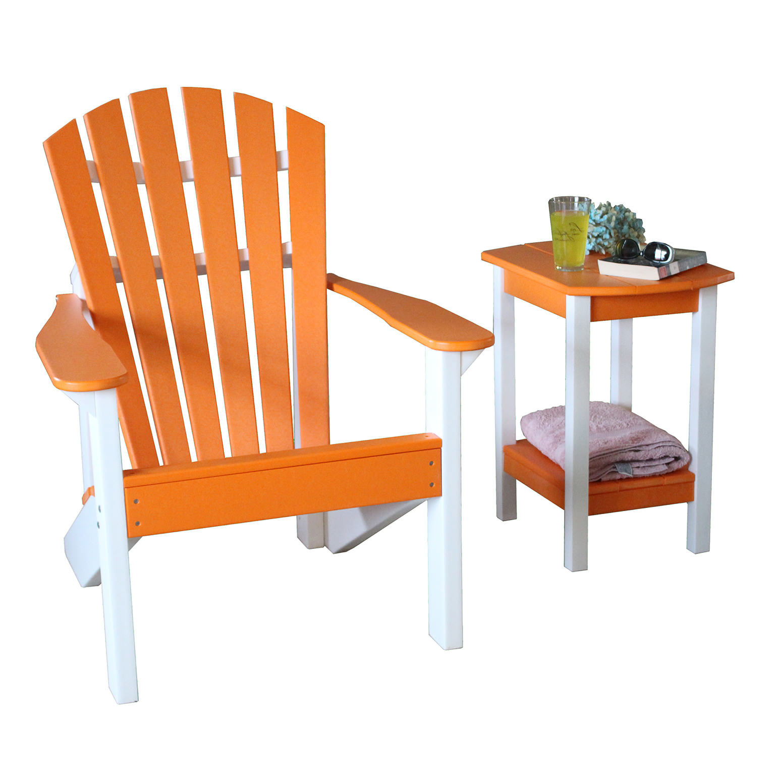 Indiana Beachcrest Adirondack Set