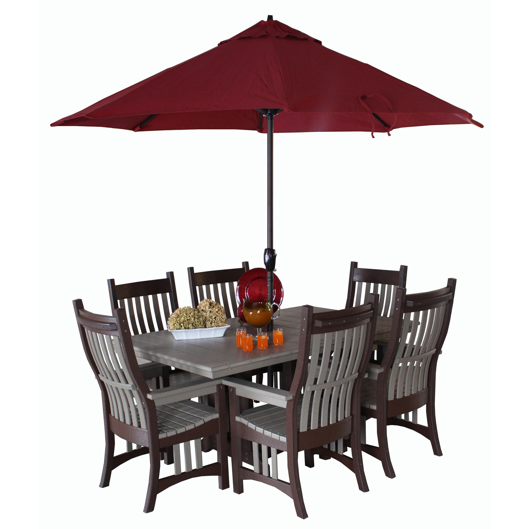 Indiana Amish Poly Rexford Dining Set