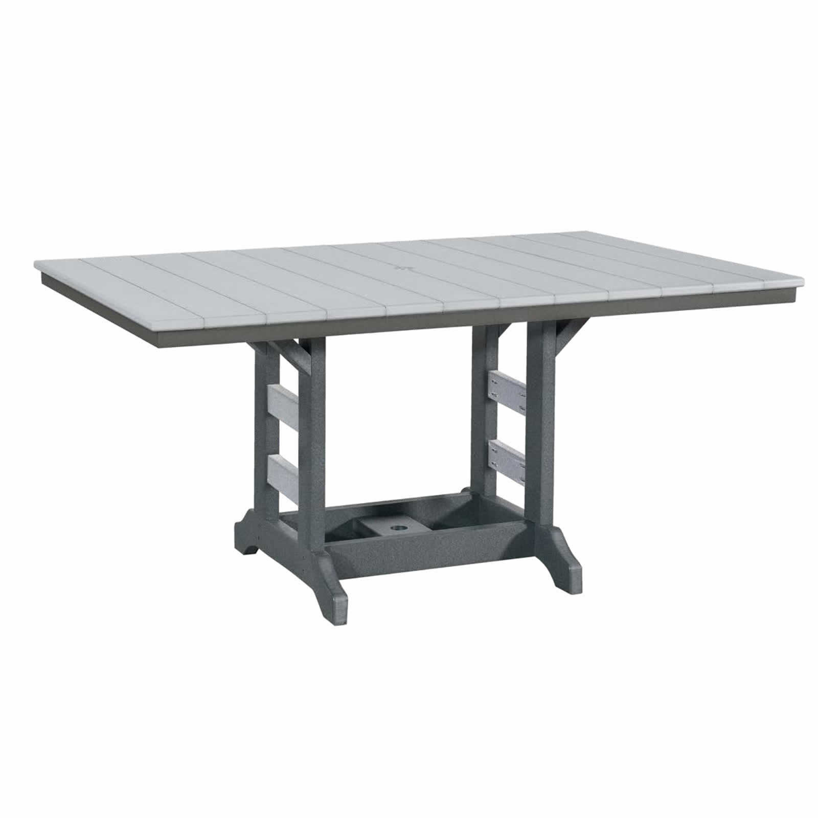 Indiana Amish Poly 42in x 64in Rectangle Dining Table
