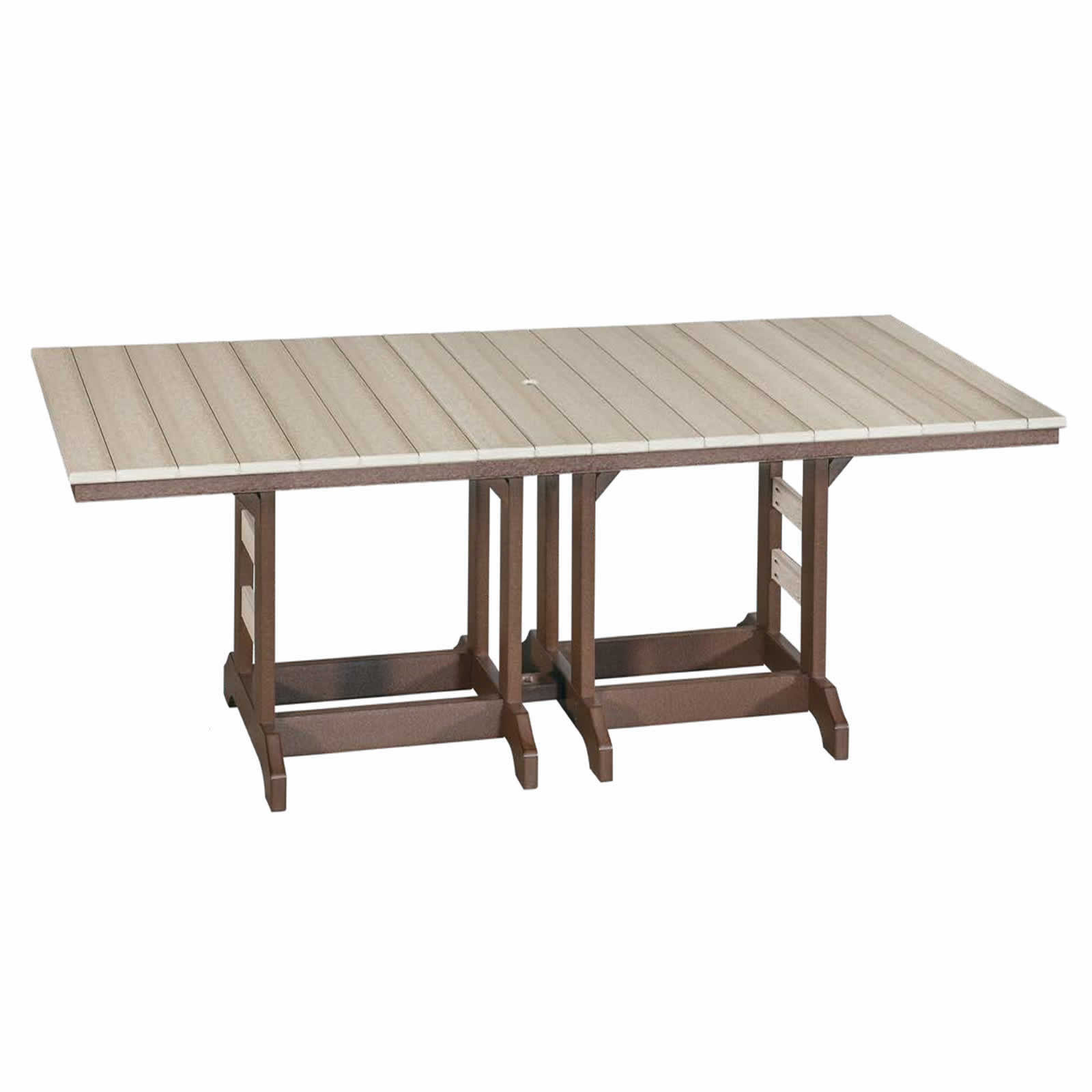 Indiana Amish Poly 42 x 96 Counter Table