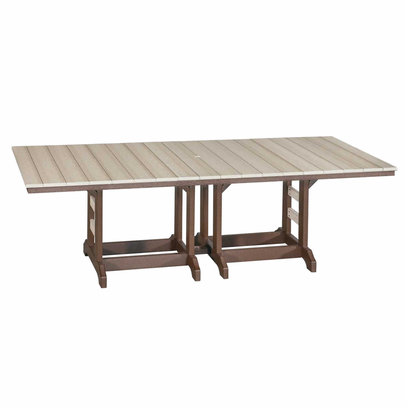 Indiana Amish Poly 42 x 96 Dining Table
