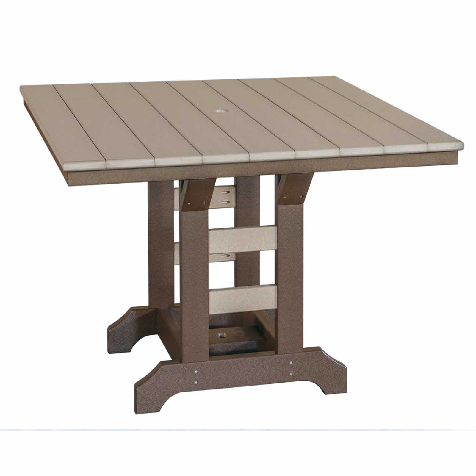 Indiana Amish Poly 48in Square Balcony Table