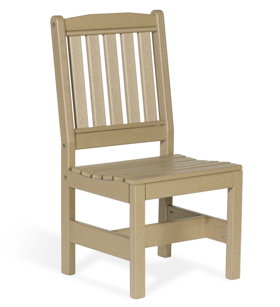 Amish Poly English Garden Dining Side Chair