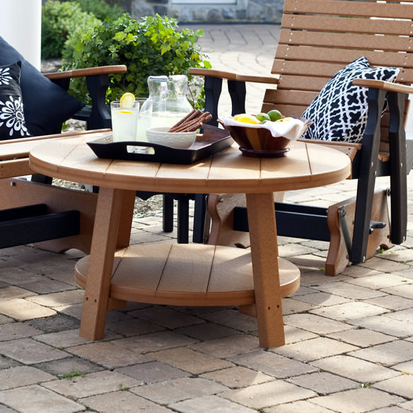 Amish Poly Wood Conversation Table
