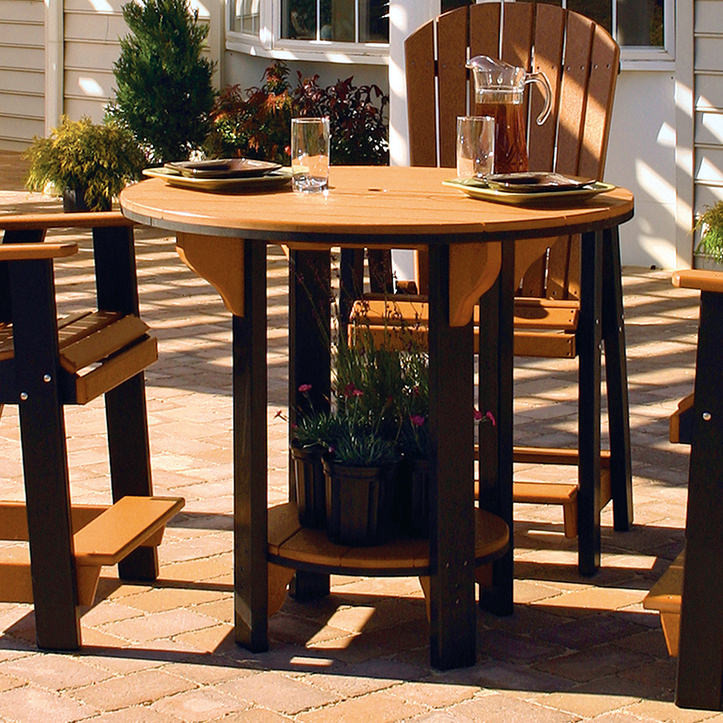 Amish Poly Wood 42 Pub Table