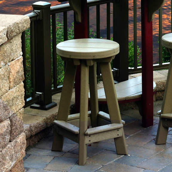 Amish Poly Bar Stool