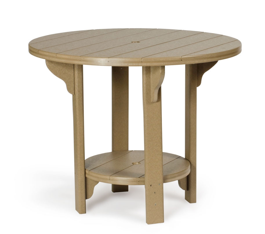 Amish Poly Round 42 in Dining Table