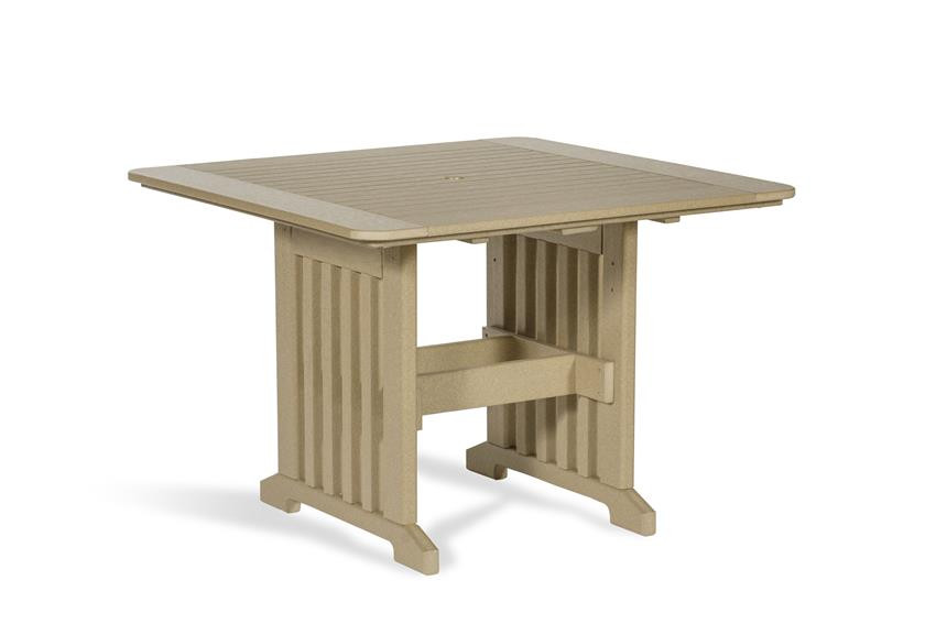 Amish Poly Square 43 in Dining Table