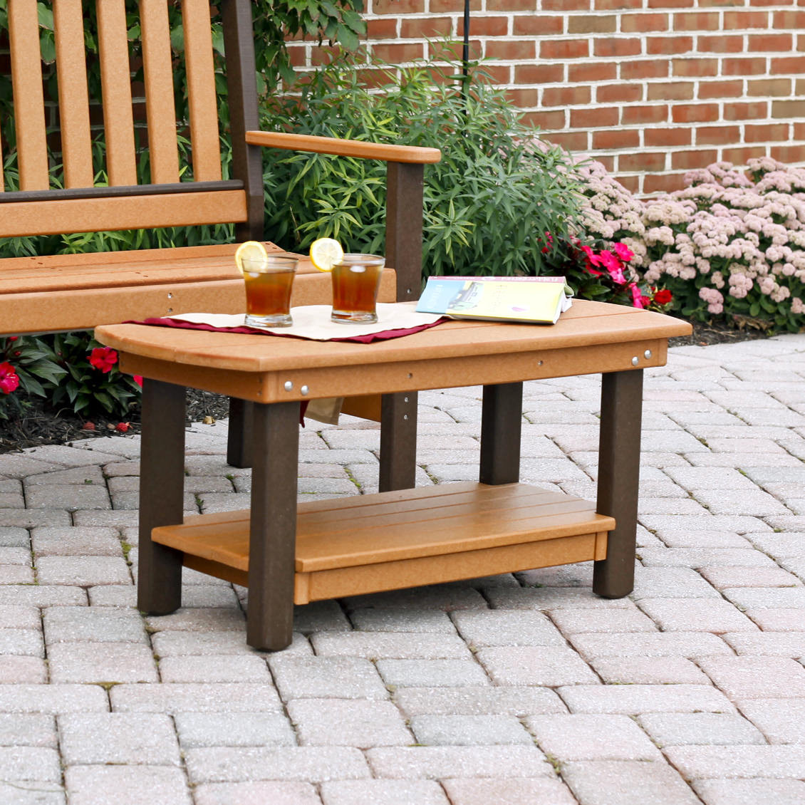 Amish Poly Wood Garden Coffee Table