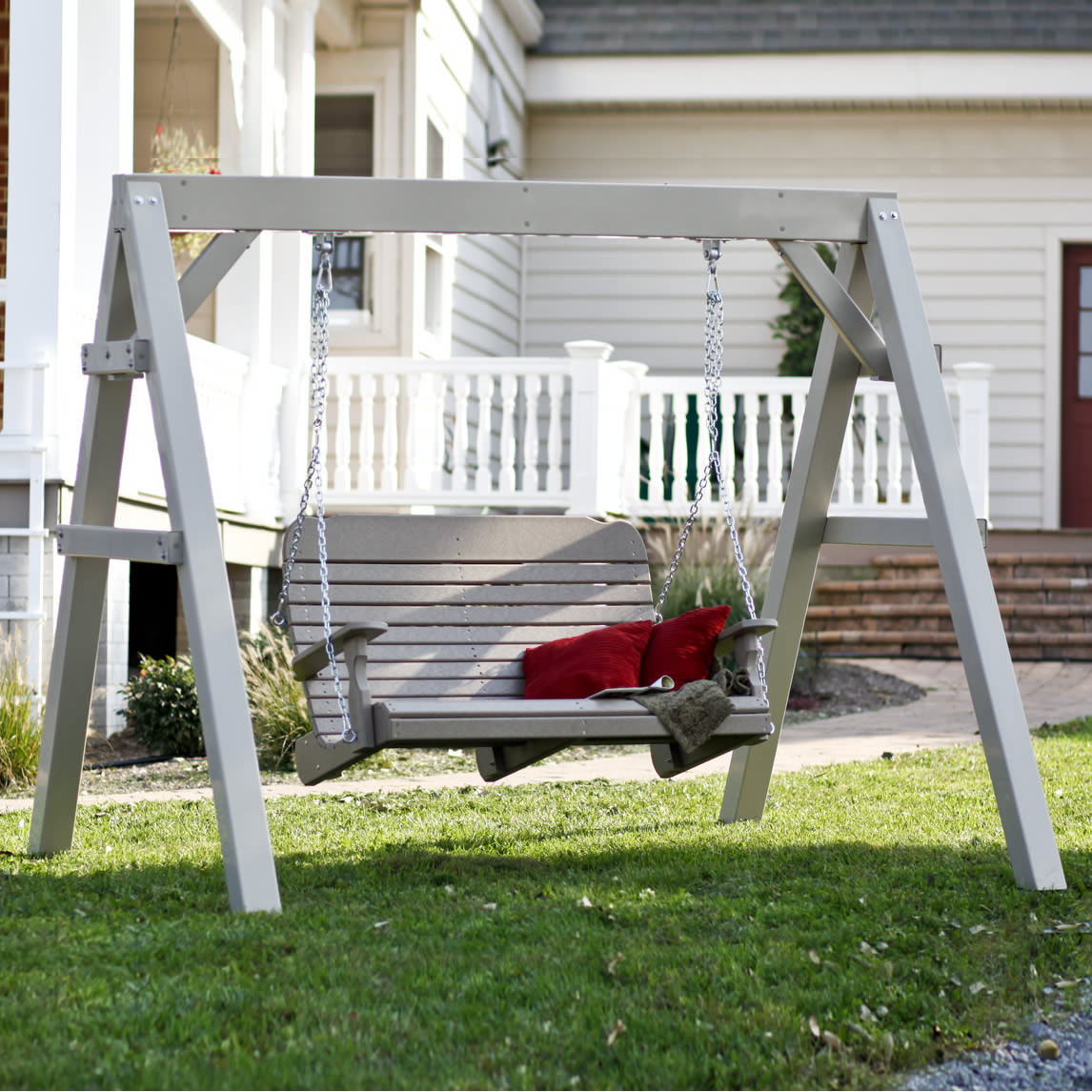 Amish Poly Vinyl Swing Stand Frame