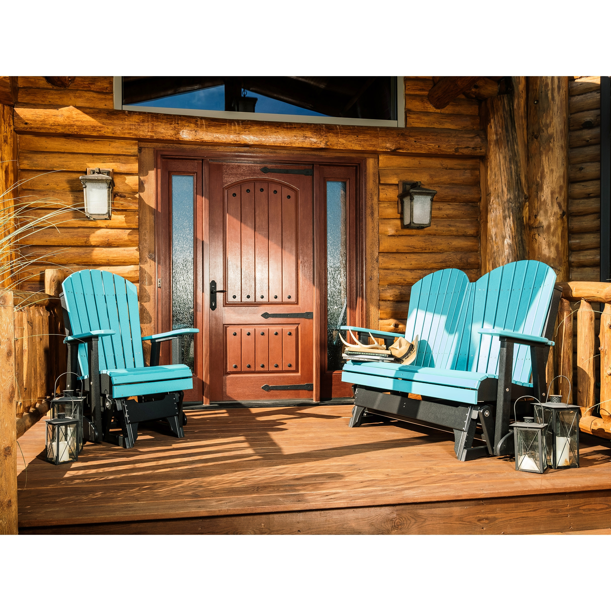 Luxcraft / Crestville® Adirondack Glider 2 pc Seating Set
