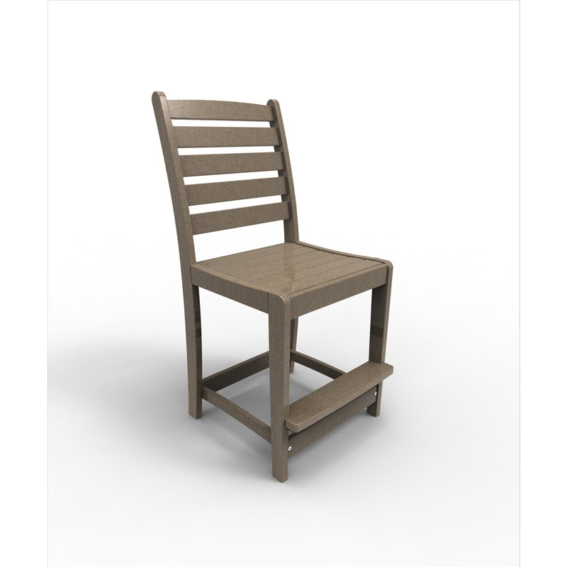 Malibu Outdoor Maywood Counter Side Chair   (Sold in Pairs)