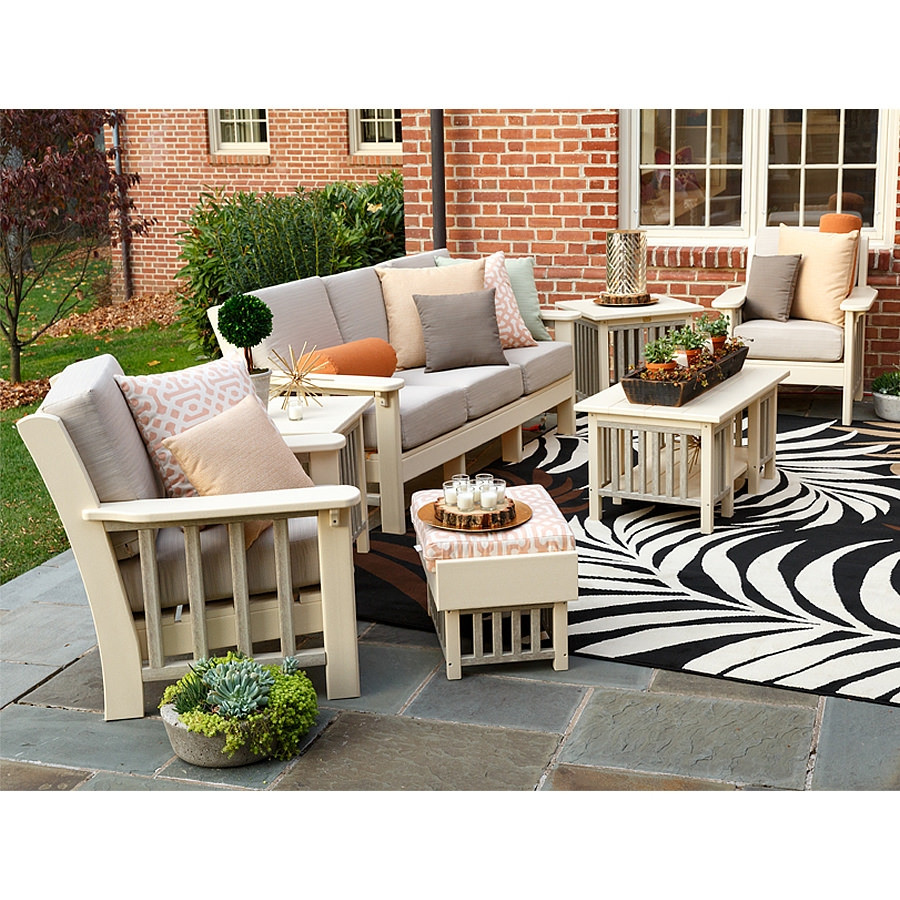 Finch Amish Poly Mission 7 pc Outdoor Living Set