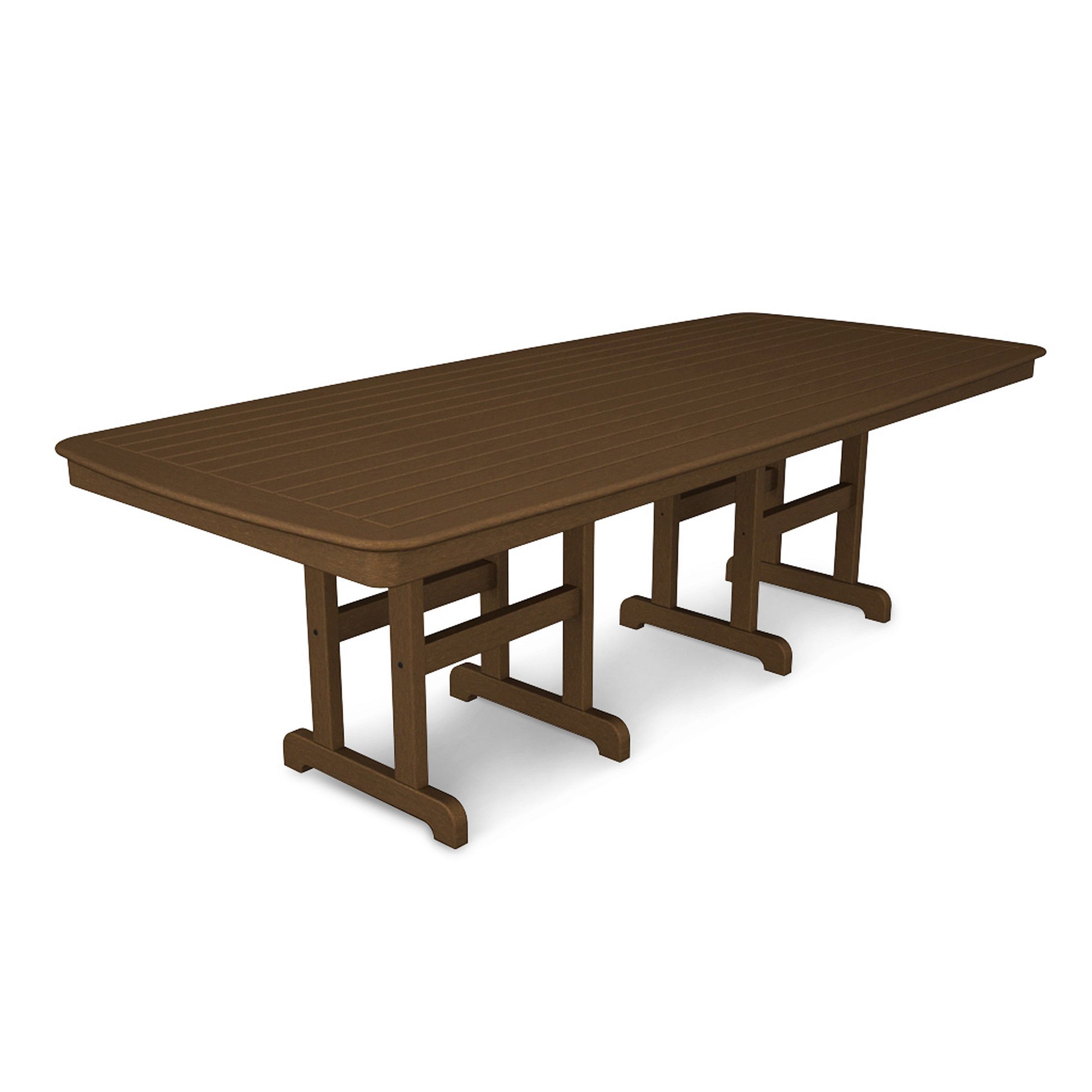 POLYWOOD Nautical 44 x 96 in Dining Table