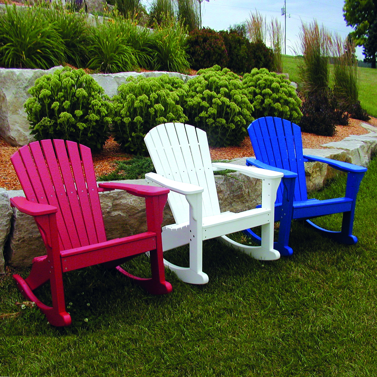Perfect Choice Adirondack Rocking Chair