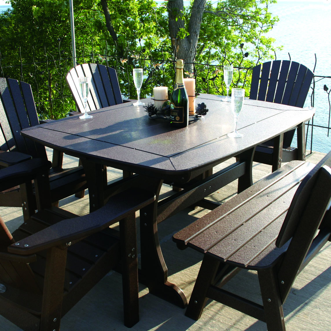 """Perfect Choice 56"""" Dining Table"""