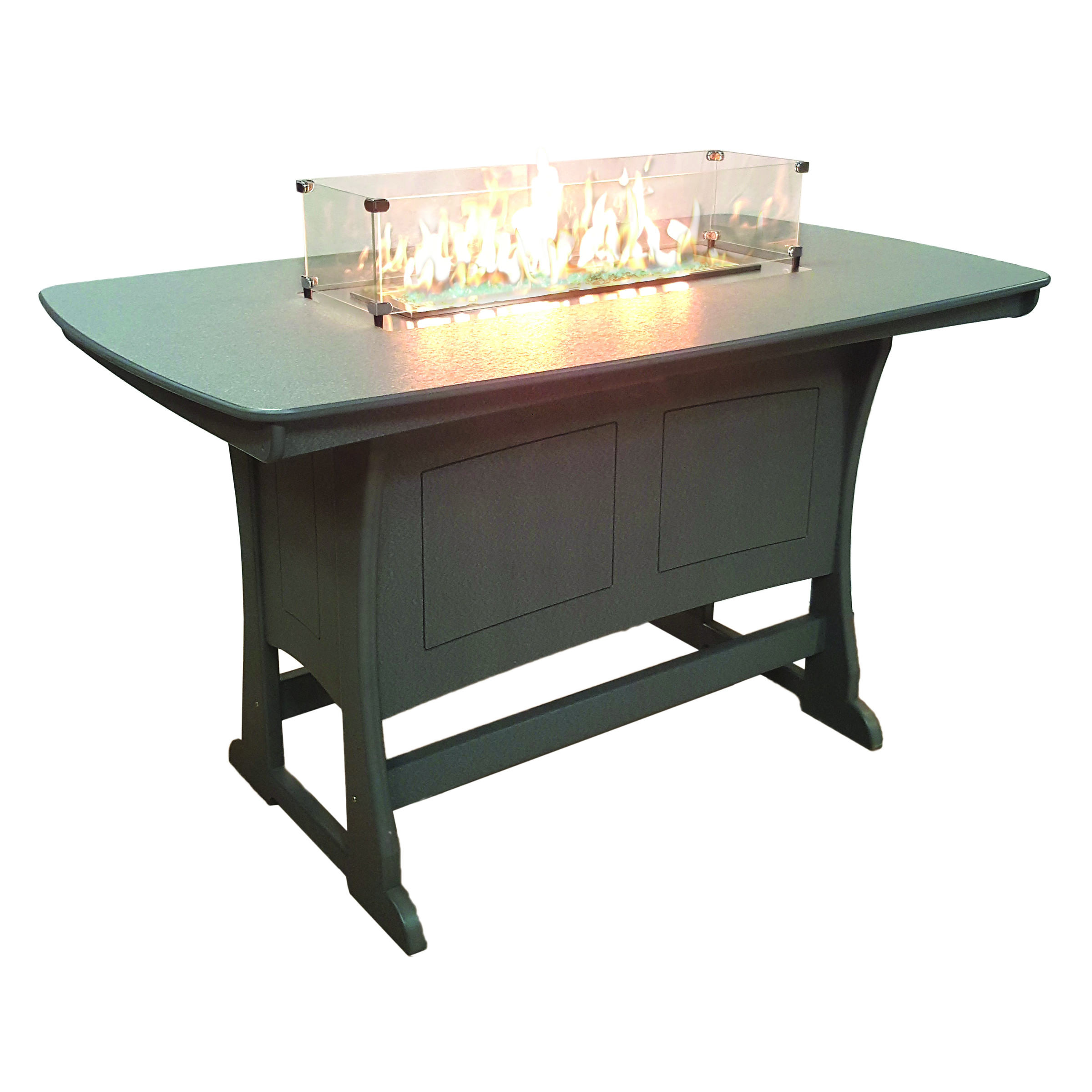 Perfect Choice 72 in Counter Height Fire Table