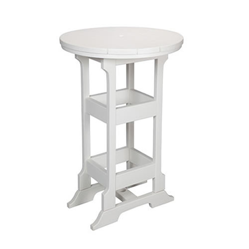 Casual Comfort Poly Lumber 28in Oceanside Bar Table -  Square
