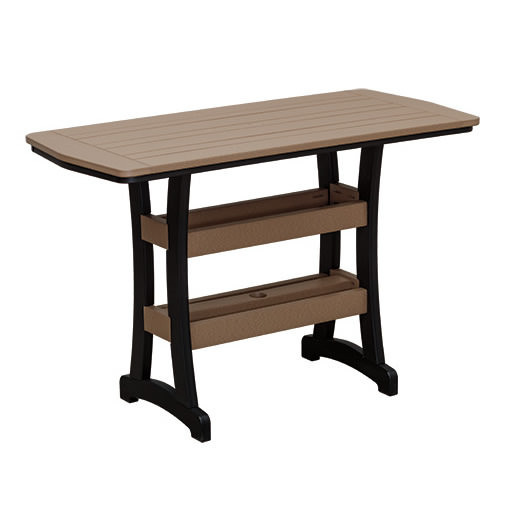 Casual Comfort Poly Lumber 28x60 Bayshore Bar Table