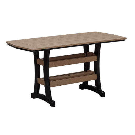 Casual Comfort Poly Lumber 28x60 Bayshore Dining Table