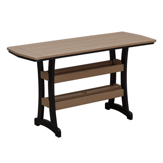 Casual Comfort Poly Lumber 28x72 Bayshore Bar Table