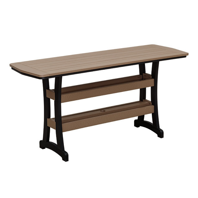 Casual Comfort Poly Lumber 28x84 Bayshore Bar Table