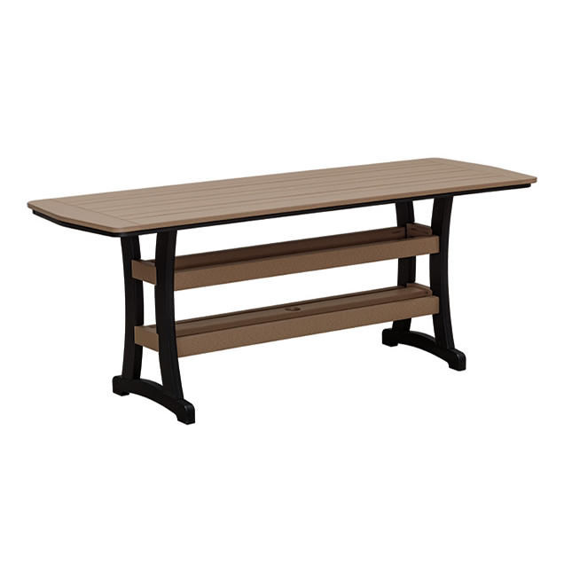 Casual Comfort Poly Lumber 28x84 Bayshore Dining Table