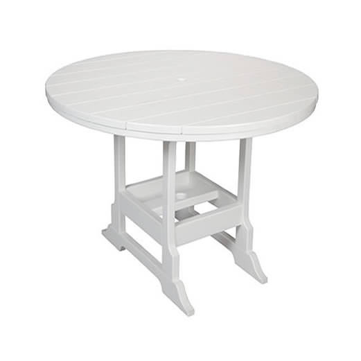 Casual Comfort Poly Lumber 36in Oceanside Counter Table - Round